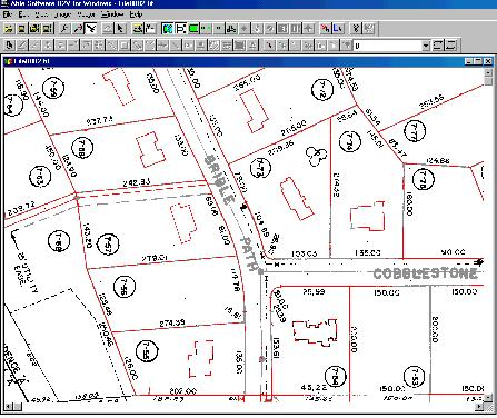 r2v raster to vector conversion gis mapping cad