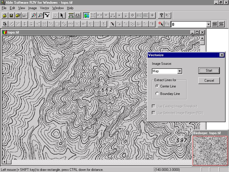 Vector Line Art Converter : R v raster to vector conversion gis mapping cad